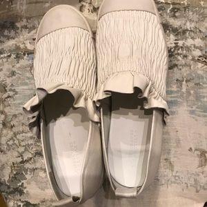 Mercedes Castillo leather sneakers